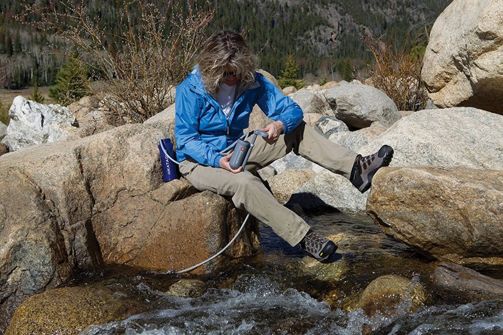 Features of the Katadyn Hiker Portable Water Filter