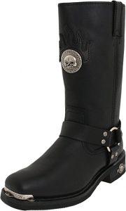 Harley-Davidson Men's Delinquent Harness Boot,Black,8.5 M