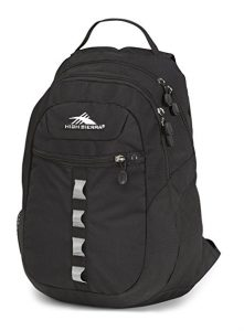 Backpack Media pocket with zipper-stop headphone port