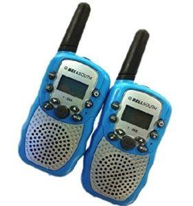 A Pair Zastone T-388 Mini Walkie Talkie 1W 462-467MHz Two Way Radio Blue