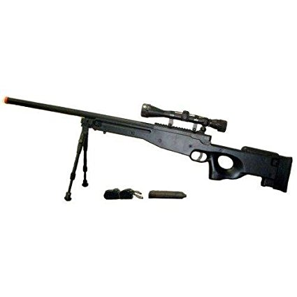 AWP Airsoft Sniper Rifle Tactical L96 3x Optical Scope
