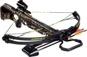 Barnett Wildcat C5 Crossbow Package (Quiver, 3 - 20-Inch Arrows and Premium Red Dot Sight)