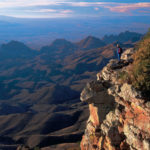 Hiking Chisos Mountain in Texas