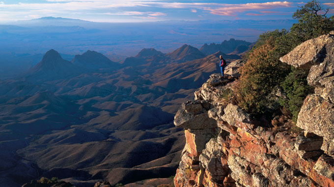 Hike in Chisos Mountain