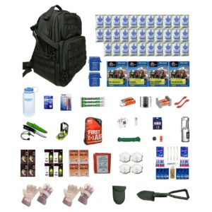 Extreme Survival Kit Deluxe Four For Earthquakes, Hurricanes, Floods, Tornados, Emergency Preparedness