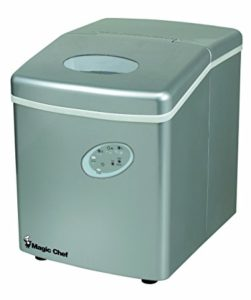Magic Chef MCIM22TS 27lb Ice Maker Stainless