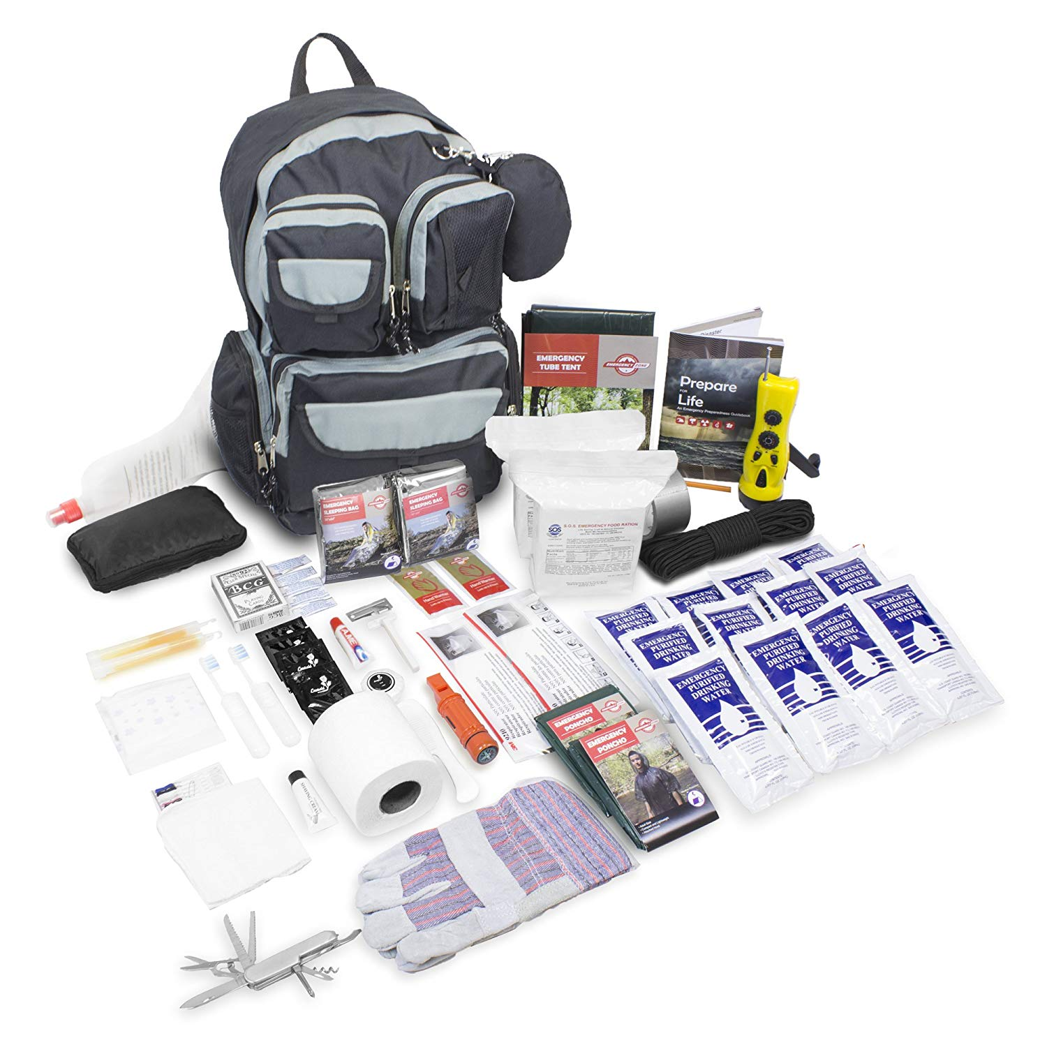 Urban Survival Bug Out Bag 72 Hour