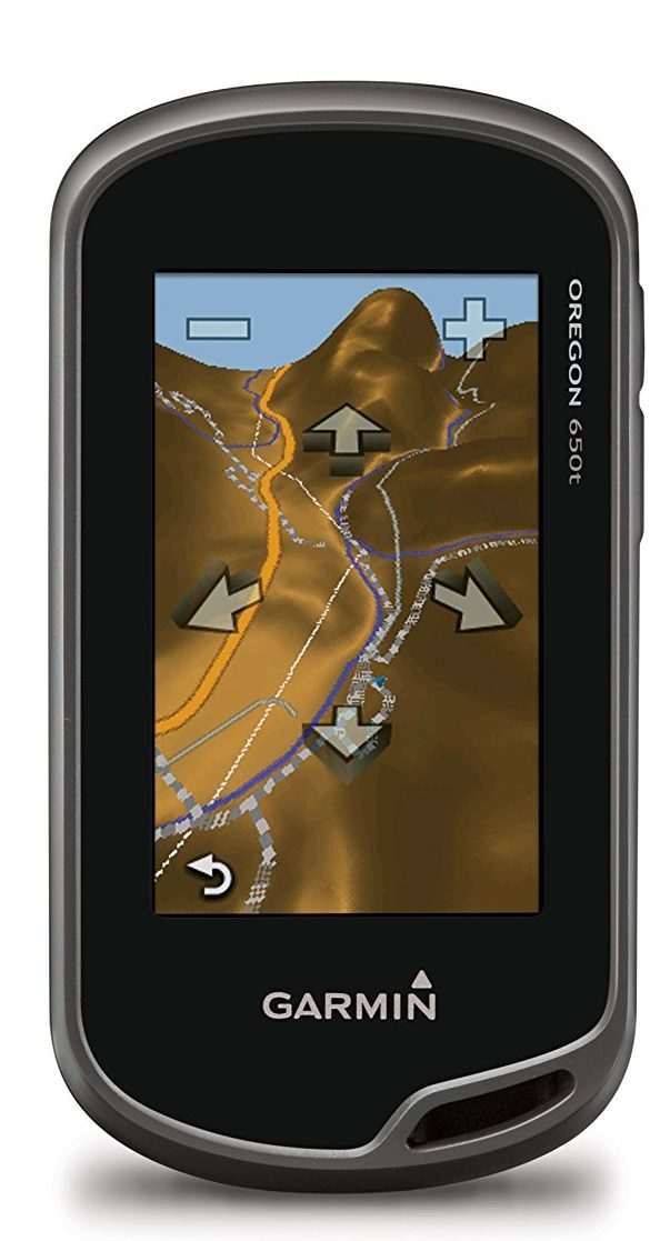 Garmin Oregon 650t 3-Inch Handheld GPS with 8MP Digital Camera (US Topographic Maps)
