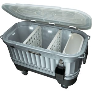 IGLOO 125 Qt. Party Bar Illuminated Wheeled Cooler Review