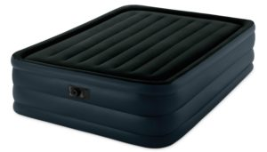 Intex Raised Downy Airbed with Built-in Electric Pump, Queen
