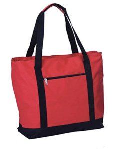 Picnic Plus Lido 2 in 1 Cooler Tote Bag, Red