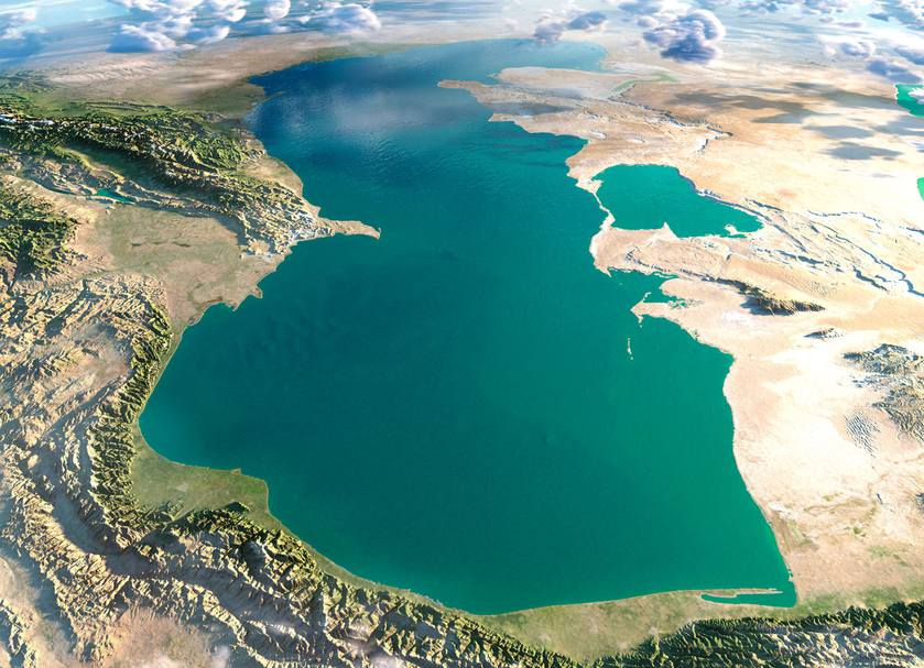 LAKE CASPIAN SEA