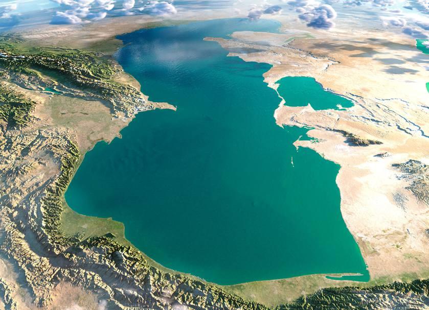 LAKE CASPIAN SEA