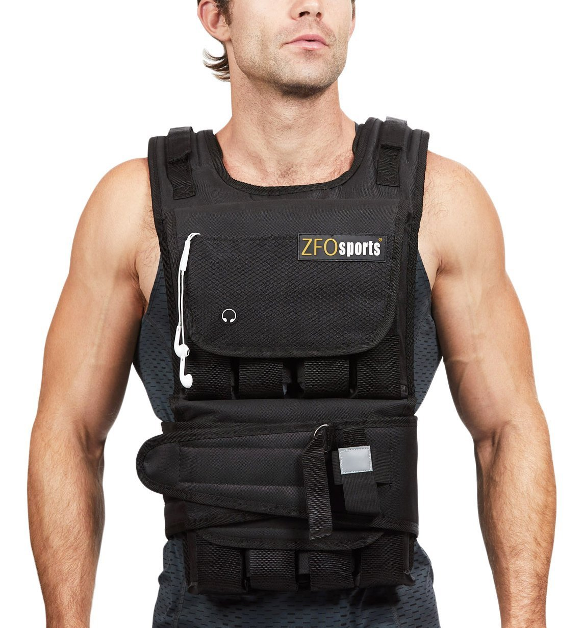 ZFOsports 40 Pounds Adjustable Weighted Vest Review