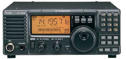 Icom IC-718 All Band Amateur Radio