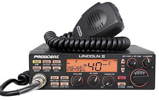 President Lincoln II Amateur Radio