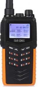 SainSonic RST599 136-174/400-520MHz Two-Way Ham Radio, Dual Band Transceiver, IP66 Waterproof