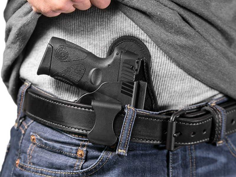 Custom Leather Gun Holster