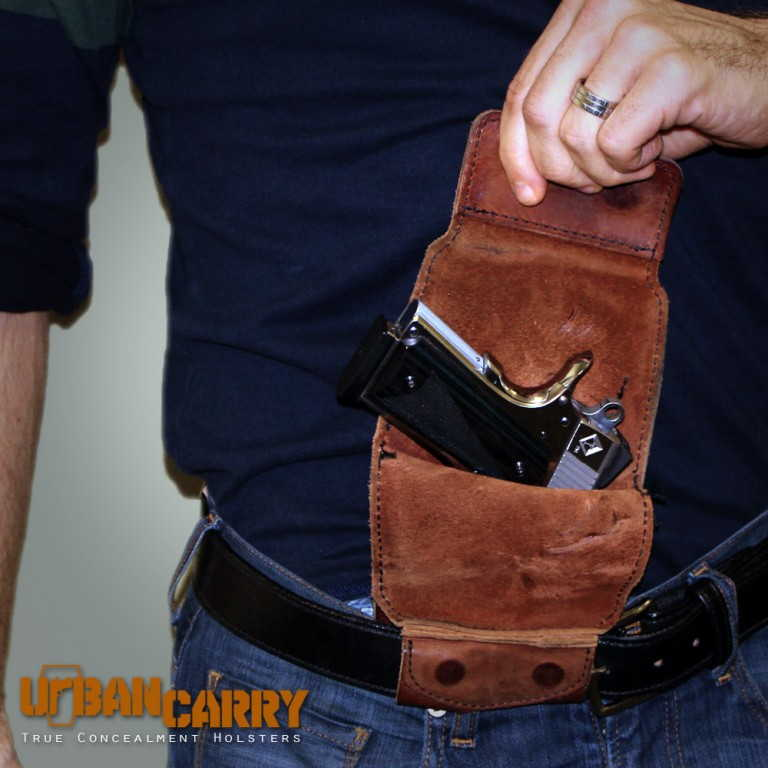 The Gun Holster Should Serve the Purpose of Concealment