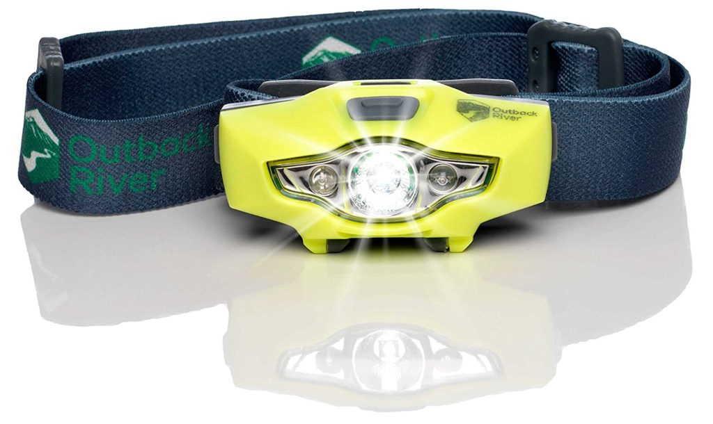 BrightSpark Compact LED Headlamp