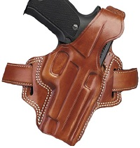 Galco Fletch High Ride Belt Holster for Beretta 92F / FS