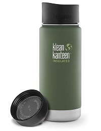 Klean Kanteen Wide Mouth with Loop Cap
