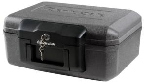SentrySafe 1200 Fireproof Box with Key Lock, 0.18 Cubic Feet