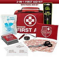 Swiss Safe 2-in-1 First Aid Kit