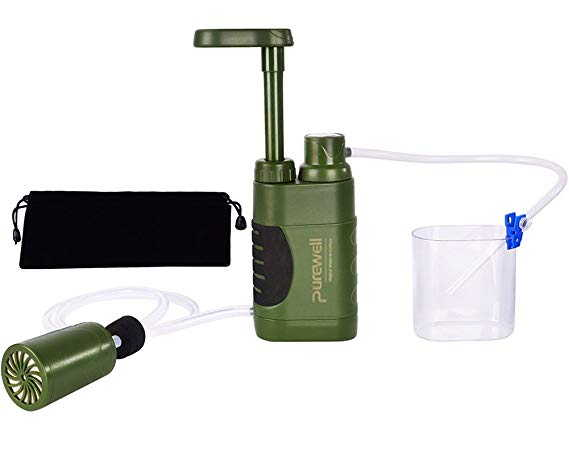 Water Purifier Pump with Replaceable Carbon