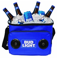 Bud Light Soft Cooler Bluetooth Speaker