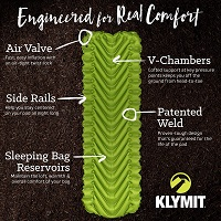 Klymit Static V2 Inflatable Sleeping Pad
