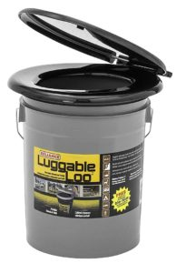 Luggable Loo Portable 5 Gallon Toilet
