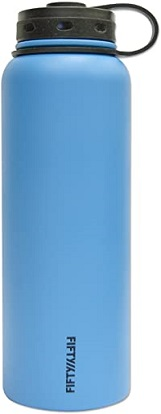 Vacuum-Insulated Stainless Steel Bottle with Wide Mouth