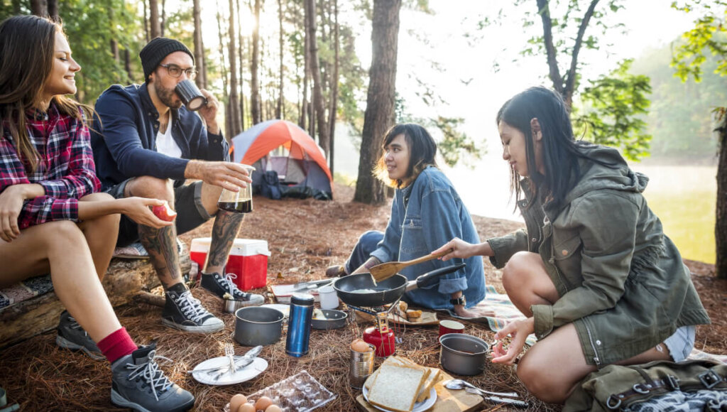 Entertainment Necessities for Camping