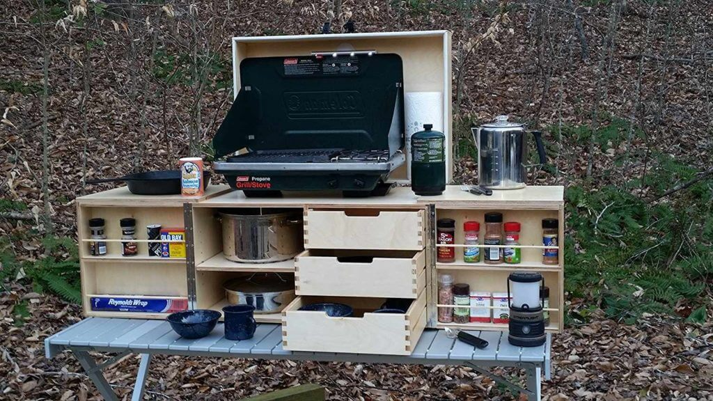 Camp Kitchen Box