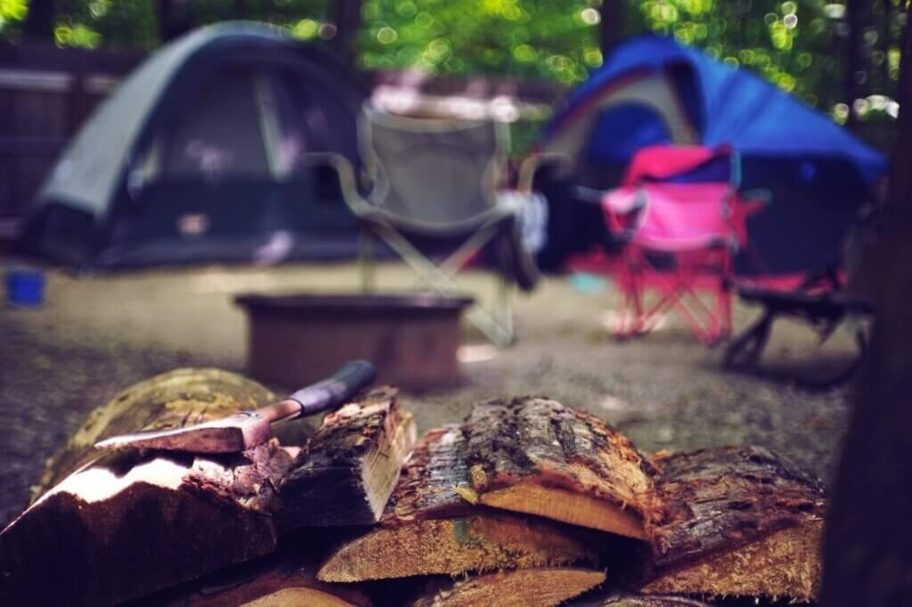 STARTING AND CLEARING A CAMPGROUND