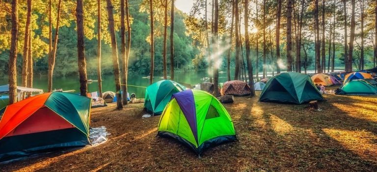 7 Great Places To Pitch A Tent In The U.S.