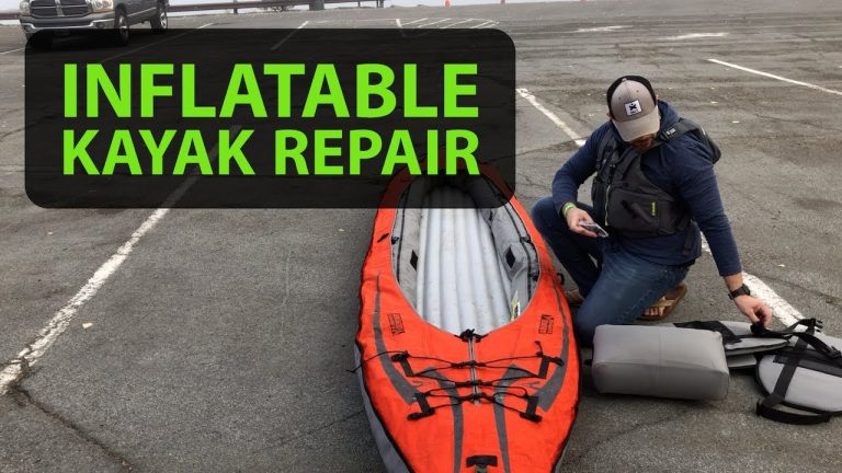 Do you know how to repair an Inflatable Kayak?