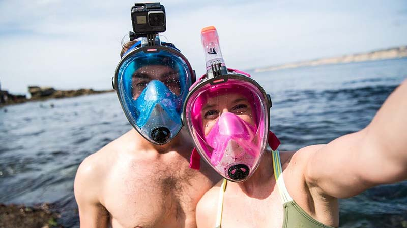 Full Face Snorkel Masks