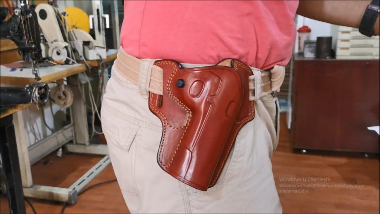 7 Best 1911 Leather Holster Reviews-Buyer Guide (Updated 2021)