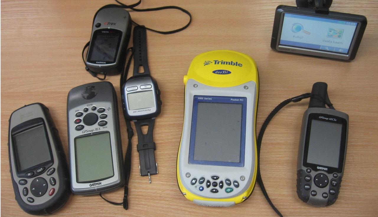 Handheld GPS Navigators