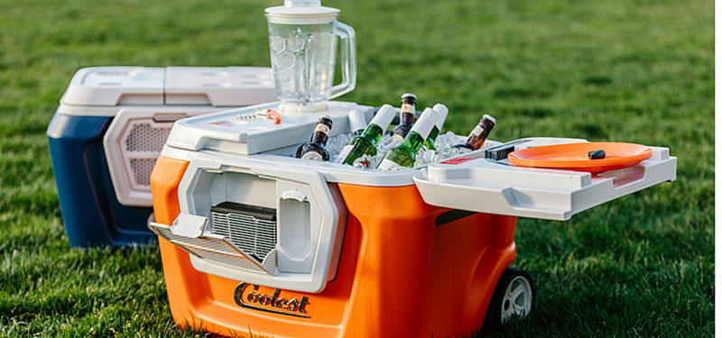Coolers with Speakers