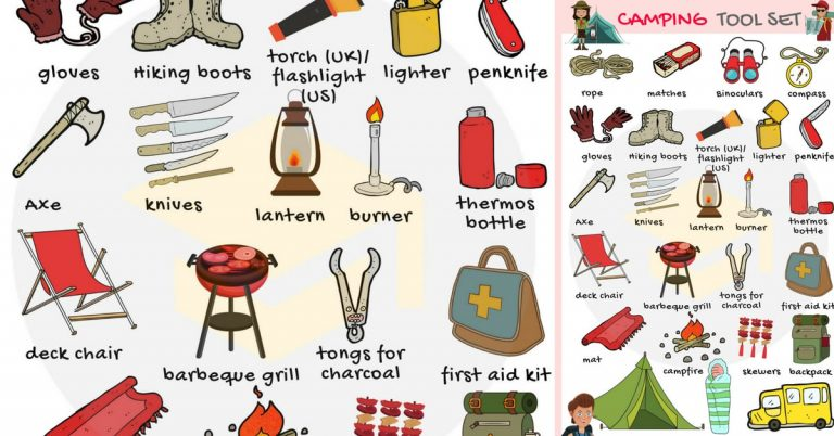 Camping Checklist of Things to Bring 2021